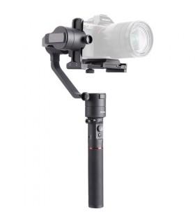 Estabilizador portatil de 3 ejes diseñado para cámaras DSLR y mirrorless de hasta 3,2 Kg.