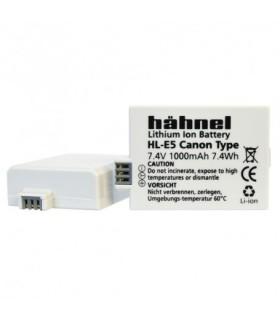 HÄHNEL Batería CANON LP-E5 Capacidad 1000mAh, 7.4V, 7.4Wh