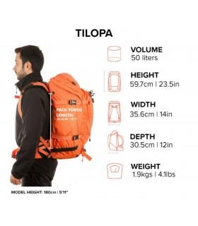 Mochila montaña - Tilopa - Aloe (verde bosque)