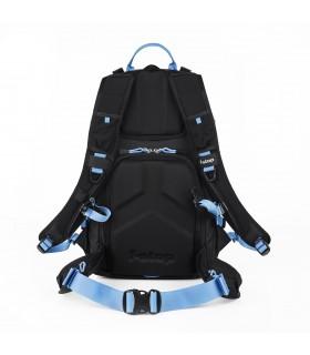 Mochila ultraligera - Guru UL-  Negro/ Malibu (azul)