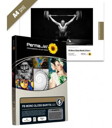 Caja A4 de 25 hojas - FB Mono Gloss Baryta 320gsm