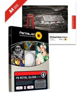 Caja A4 de 25 hojas - FB Royal Gloss (310gsm)